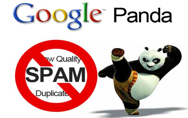 Các hình phạt của Google - Google Panda