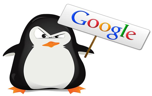 Các hình phạt của Google - Google Penguin