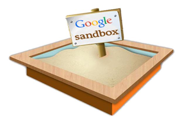 Các hình phạt của Google - Google Sandbox