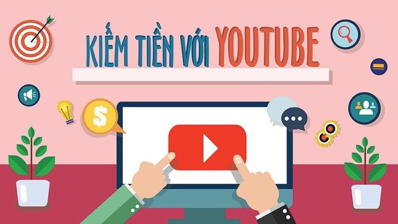 Kiếm tiền MMO từ kênh Youtube