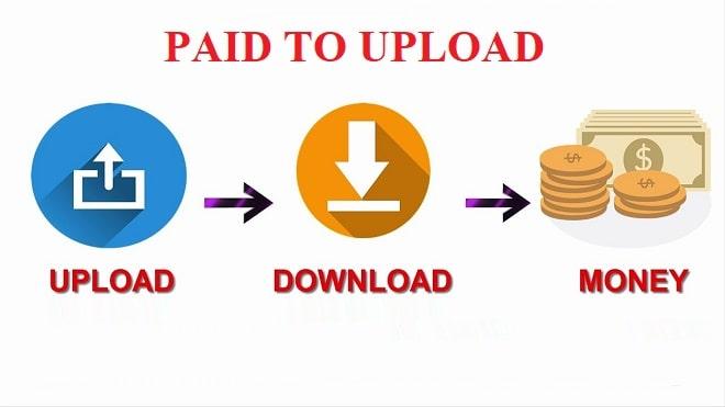 PTU (Paid to upload) – Kiếm tiền bằng việc upload tài liệu
