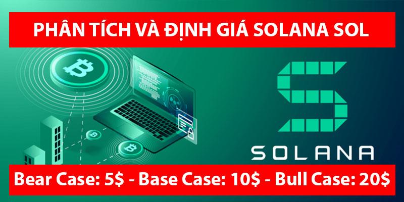 Phân tích và định giá đồng tiền SOLANA (SOL) – Kèo hold X10 trong 6 tháng
