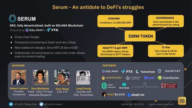 Serum (SRM)