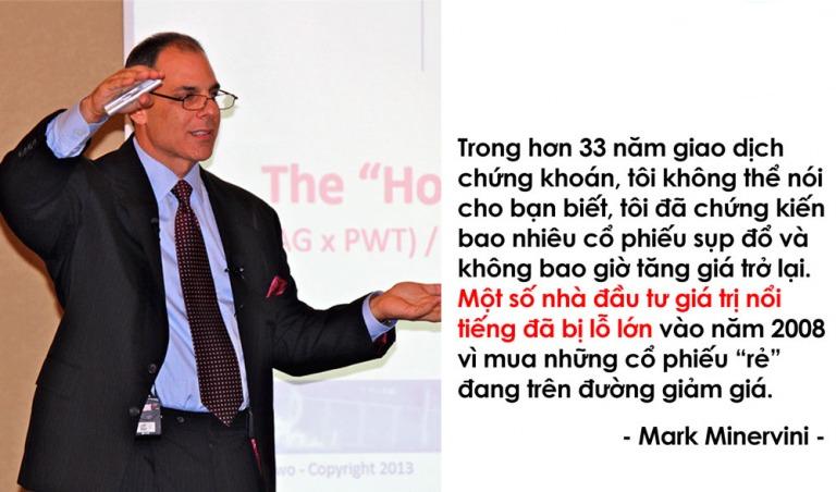 Các nhà đầu tư thành công - Mark Minervini