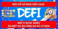 Tổng hợp các kèo xổ số mùa DeFi 2020