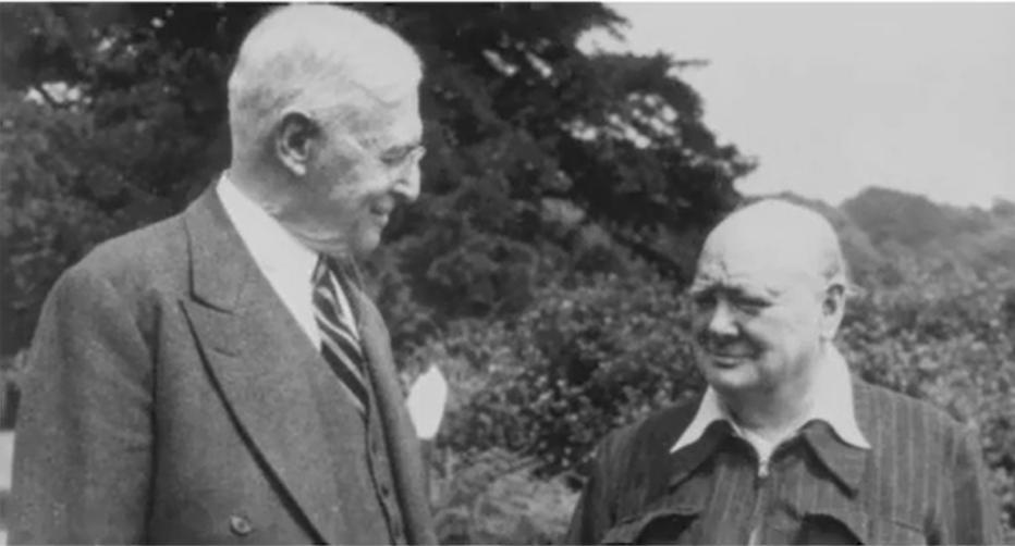 Bernard Baruch thân thiết với thủ tướng anh Winston Churchill