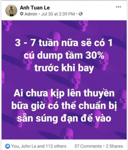 Pha dự báo cú dump thị trường tiền điện tử của admin Krypital Cybermiles Việt Nam