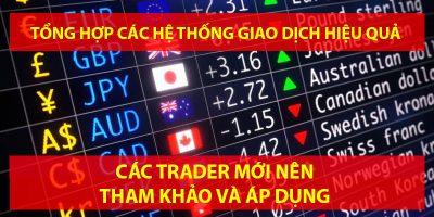 Tổng hợp một số hệ thống giao dịch Forex hiệu quả - Các trader mới nên tìm hiểu và áp dụng