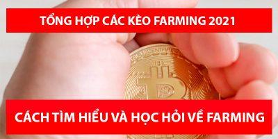 Tổng hợp các kèo Farming năm 2021 trên thị trường Crypto