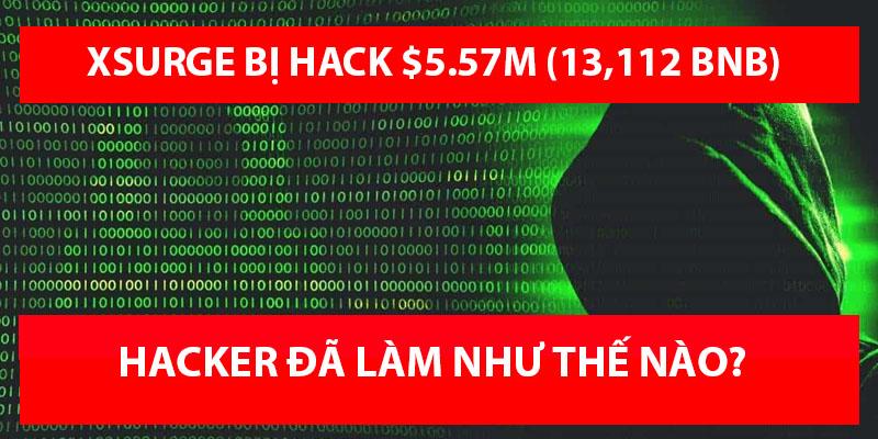 XSURGE bị tấn công mất $5.57M qua lỗ hổng Reentrancy - Hacker đã tấn công như thế nào?
